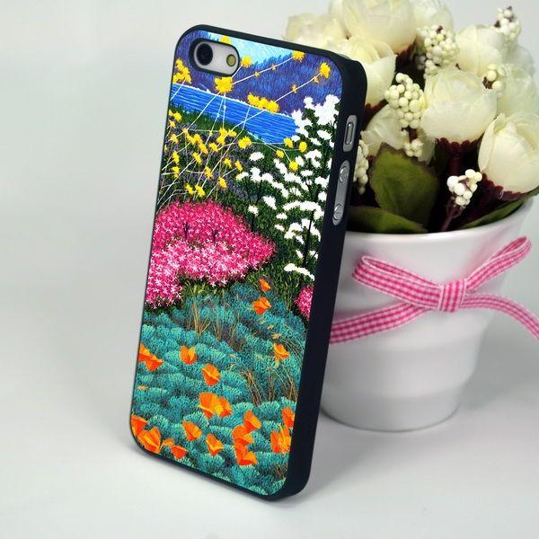 """Чехол-накладка для iPhone 4, 4S """"Flowers Dream"""""""