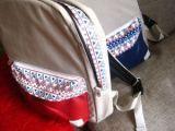 Модный женский рюкзак с этническим узором