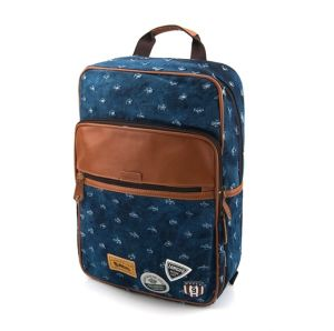 """Джинсовый рюкзак """"Western Badge"""" - Holes Deep Blue"""