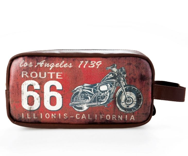 Косметичка «Historic Route 66» - Red