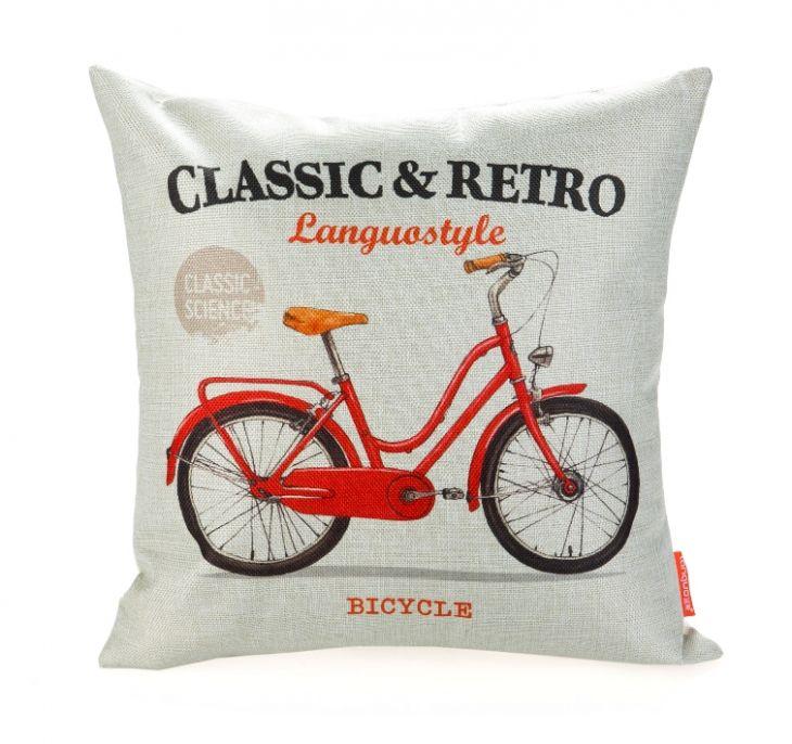 Диванная подушка «Classic & Retro» - Bicycle