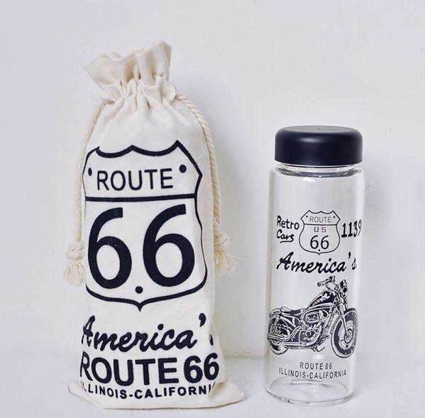 Бутылка для напитков «America`s Route» - Motorbike
