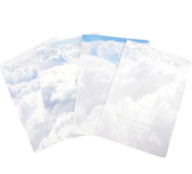 Тетрадь с облаками  «Love In The Sky»