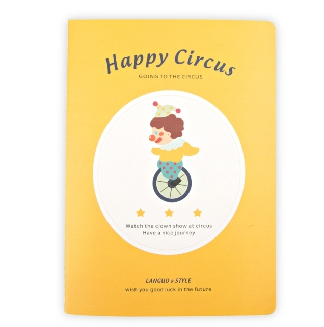 Тетрадь «Happy Circus» - Yellow