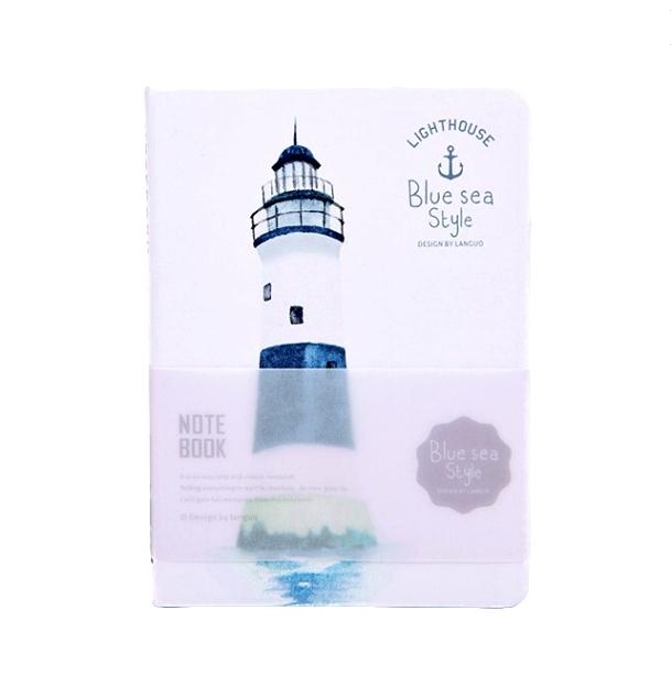 Блокнот «Lighthouse» - White-Navy