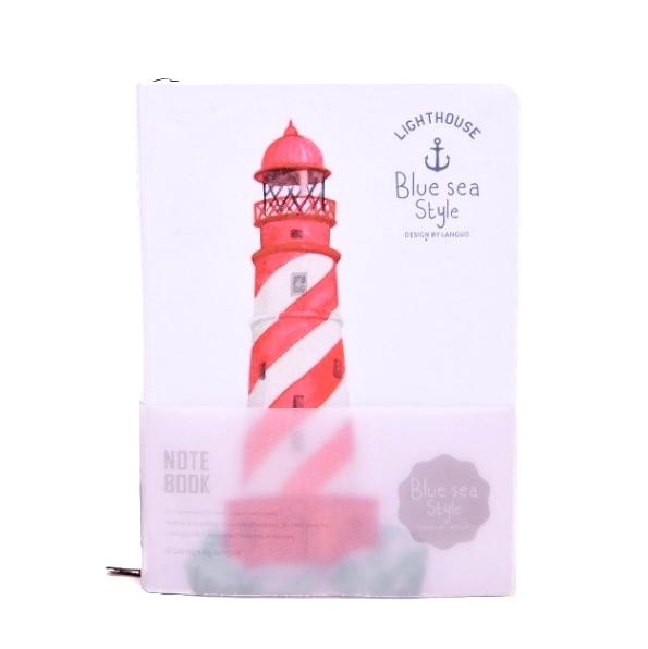 Блокнот «Lighthouse» - White-Red