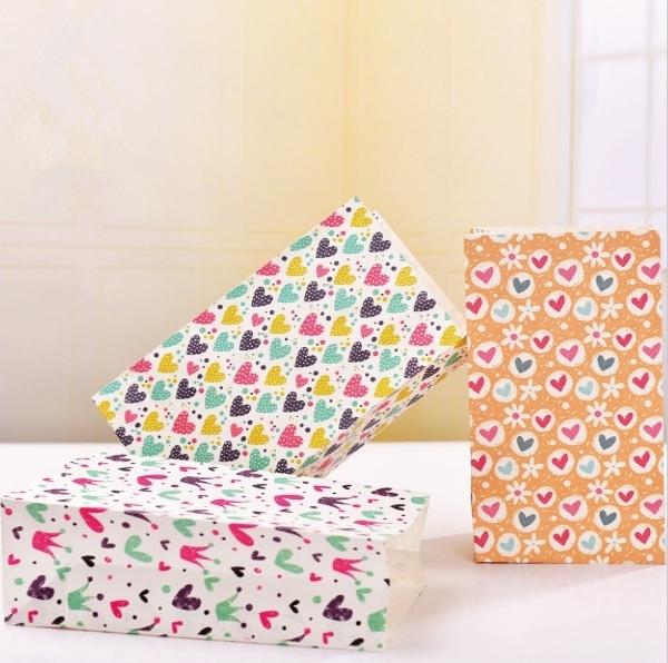 Набор пакетов для упаковки «Hearts»