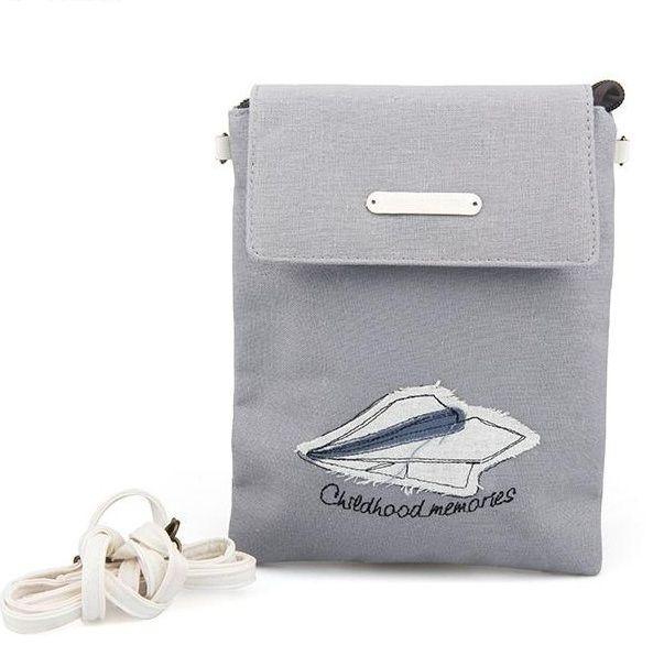 "Маленькая сумка ""Childhood Memories"" - Paper Plane"