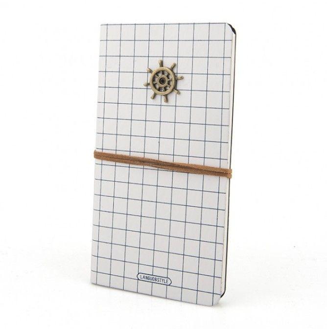 Блокнот в кожаной обложке «Captain Notebook»