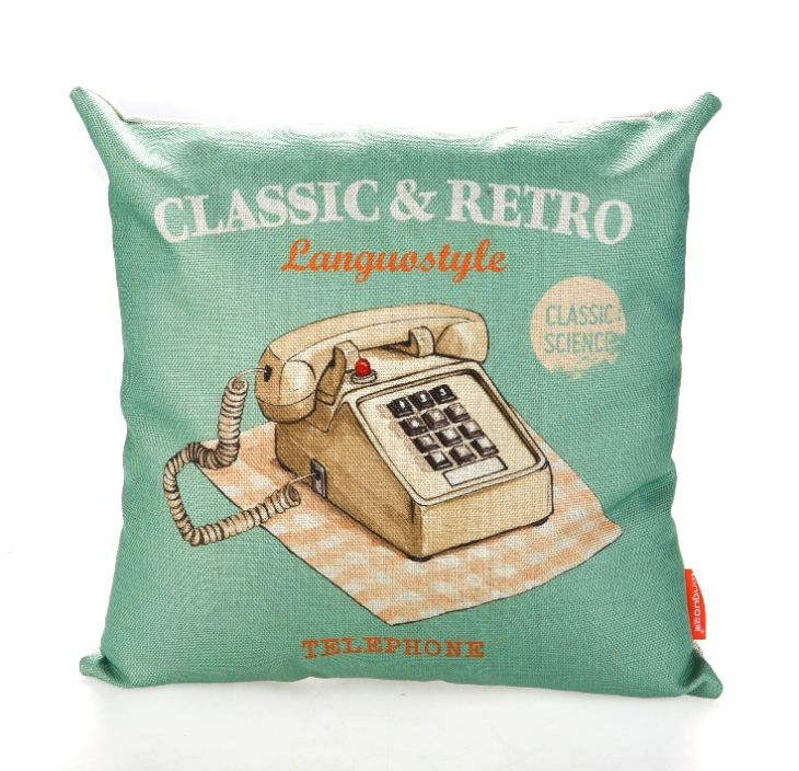 Диванная подушка «Classic & Retro» - Telephone