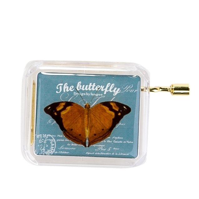 Музыкальная коробочка «Butterfly» - Blue