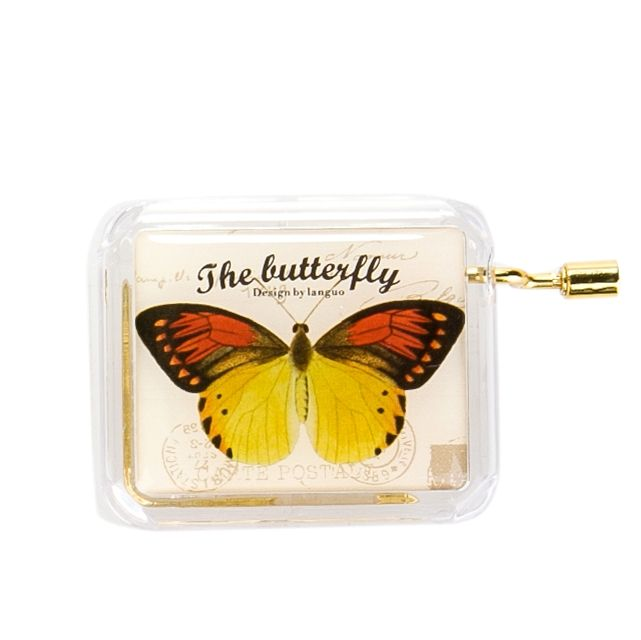 Музыкальная коробочка «Butterfly» - Yellow