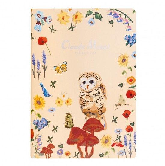 Тетрадь Б5  «Claude Monet» - Cream