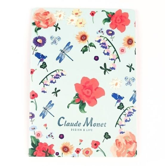Тетрадь Б5 «Claude Monet» - Azure