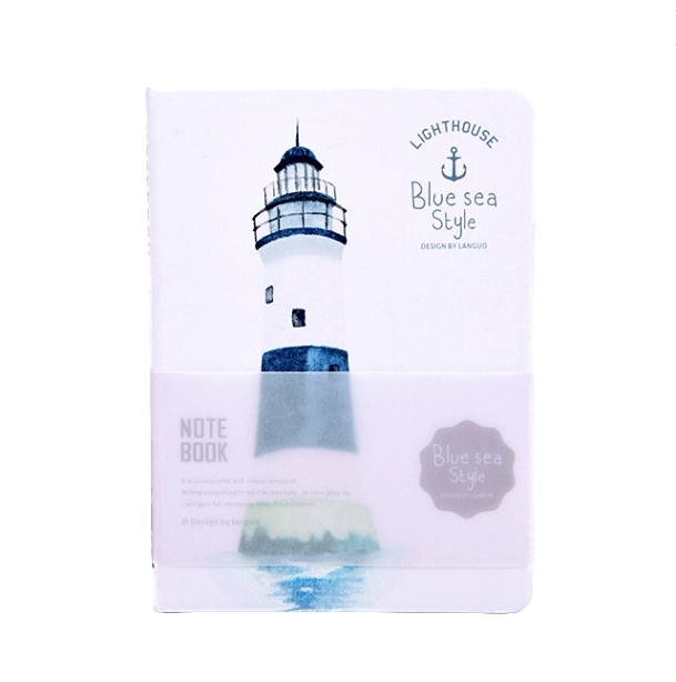Блокнот «Lighthouse» - White-Navy