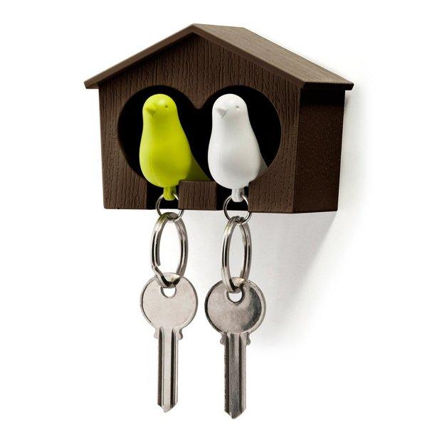 """Держатель для ключей """"Duo Sparrow"""" - Brown"""