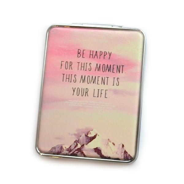 Карманное зеркало «Happy Moment»